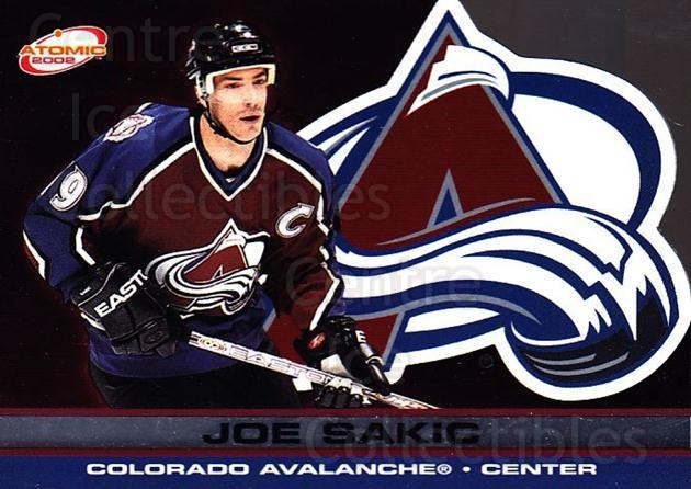 2001-02 Atomic #27 Joe Sakic<br/>7 In Stock - $3.00 each - <a href=https://centericecollectibles.foxycart.com/cart?name=2001-02%20Atomic%20%2327%20Joe%20Sakic...&quantity_max=7&price=$3.00&code=339748 class=foxycart> Buy it now! </a>