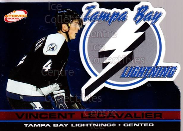 2001-02 Atomic Red #89 Vincent Lecavalier<br/>3 In Stock - $3.00 each - <a href=https://centericecollectibles.foxycart.com/cart?name=2001-02%20Atomic%20Red%20%2389%20Vincent%20Lecaval...&quantity_max=3&price=$3.00&code=339881 class=foxycart> Buy it now! </a>