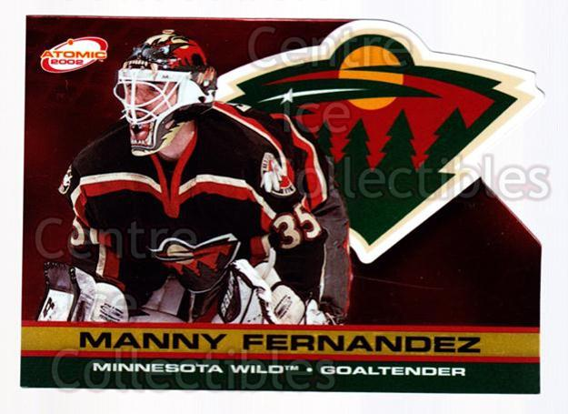 2001-02 Atomic Gold #49 Manny Fernandez<br/>1 In Stock - $3.00 each - <a href=https://centericecollectibles.foxycart.com/cart?name=2001-02%20Atomic%20Gold%20%2349%20Manny%20Fernandez...&quantity_max=1&price=$3.00&code=339965 class=foxycart> Buy it now! </a>