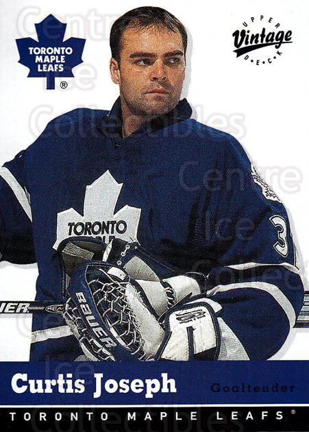 2000-01 UD Vintage #338 Curtis Joseph<br/>4 In Stock - $1.00 each - <a href=https://centericecollectibles.foxycart.com/cart?name=2000-01%20UD%20Vintage%20%23338%20Curtis%20Joseph...&quantity_max=4&price=$1.00&code=340446 class=foxycart> Buy it now! </a>