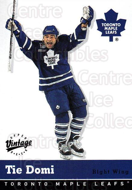 2000-01 UD Vintage #344 Tie Domi<br/>1 In Stock - $1.00 each - <a href=https://centericecollectibles.foxycart.com/cart?name=2000-01%20UD%20Vintage%20%23344%20Tie%20Domi...&quantity_max=1&price=$1.00&code=340447 class=foxycart> Buy it now! </a>