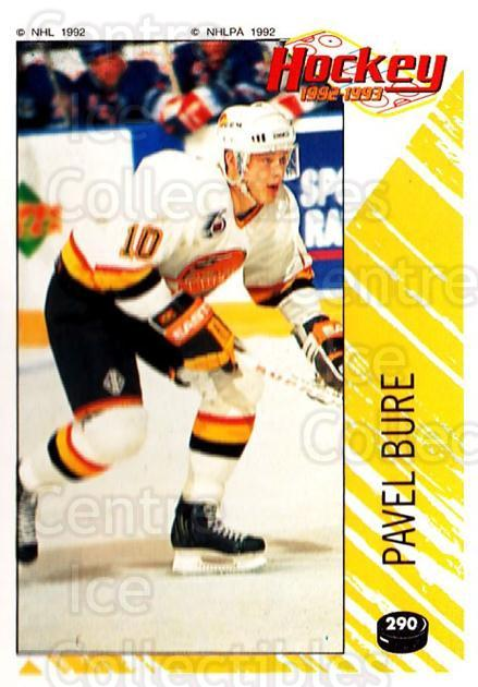 1992-93 Panini Stickers #290 Pavel Bure<br/>1 In Stock - $2.00 each - <a href=https://centericecollectibles.foxycart.com/cart?name=1992-93%20Panini%20Stickers%20%23290%20Pavel%20Bure...&quantity_max=1&price=$2.00&code=340472 class=foxycart> Buy it now! </a>