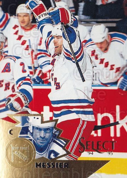 1994-95 Select #1 Mark Messier<br/>4 In Stock - $2.00 each - <a href=https://centericecollectibles.foxycart.com/cart?name=1994-95%20Select%20%231%20Mark%20Messier...&quantity_max=4&price=$2.00&code=34072 class=foxycart> Buy it now! </a>