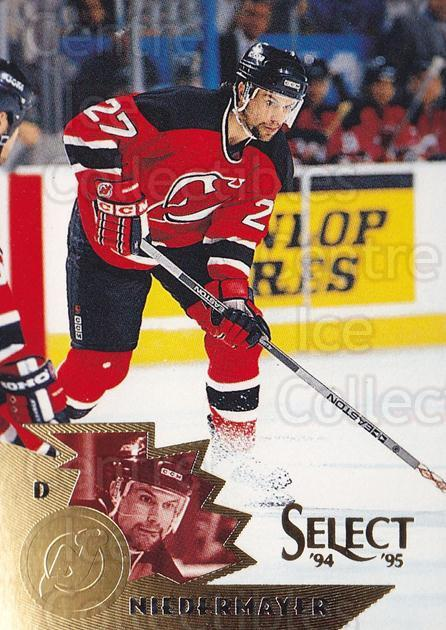 1994-95 Select #101 Scott Niedermayer<br/>3 In Stock - $1.00 each - <a href=https://centericecollectibles.foxycart.com/cart?name=1994-95%20Select%20%23101%20Scott%20Niedermay...&quantity_max=3&price=$1.00&code=34075 class=foxycart> Buy it now! </a>