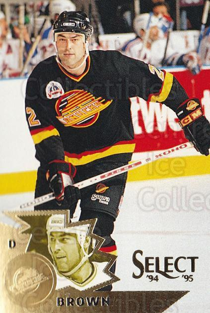 1994-95 Select #110 Jeff Brown<br/>4 In Stock - $1.00 each - <a href=https://centericecollectibles.foxycart.com/cart?name=1994-95%20Select%20%23110%20Jeff%20Brown...&quantity_max=4&price=$1.00&code=34085 class=foxycart> Buy it now! </a>