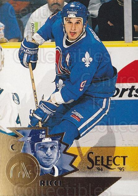 1994-95 Select #114 Mike Ricci<br/>4 In Stock - $1.00 each - <a href=https://centericecollectibles.foxycart.com/cart?name=1994-95%20Select%20%23114%20Mike%20Ricci...&quantity_max=4&price=$1.00&code=34089 class=foxycart> Buy it now! </a>