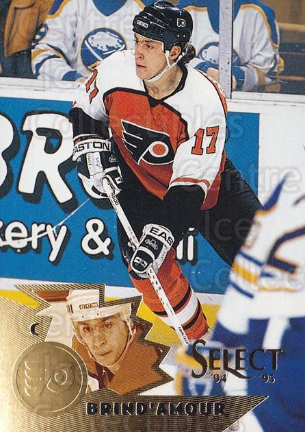 1994-95 Select #119 Rod Brind'Amour<br/>4 In Stock - $1.00 each - <a href=https://centericecollectibles.foxycart.com/cart?name=1994-95%20Select%20%23119%20Rod%20Brind'Amour...&quantity_max=4&price=$1.00&code=34094 class=foxycart> Buy it now! </a>