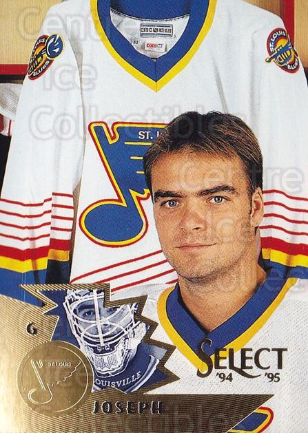1994-95 Select #121 Curtis Joseph<br/>4 In Stock - $2.00 each - <a href=https://centericecollectibles.foxycart.com/cart?name=1994-95%20Select%20%23121%20Curtis%20Joseph...&quantity_max=4&price=$2.00&code=34097 class=foxycart> Buy it now! </a>