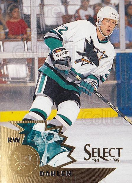 1994-95 Select #123 Ulf Dahlen<br/>4 In Stock - $1.00 each - <a href=https://centericecollectibles.foxycart.com/cart?name=1994-95%20Select%20%23123%20Ulf%20Dahlen...&quantity_max=4&price=$1.00&code=34099 class=foxycart> Buy it now! </a>