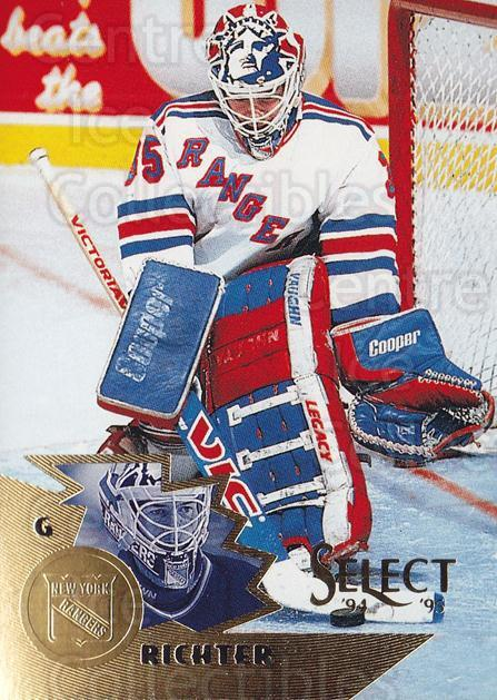 1994-95 Select #133 Mike Richter<br/>4 In Stock - $2.00 each - <a href=https://centericecollectibles.foxycart.com/cart?name=1994-95%20Select%20%23133%20Mike%20Richter...&quantity_max=4&price=$2.00&code=34110 class=foxycart> Buy it now! </a>
