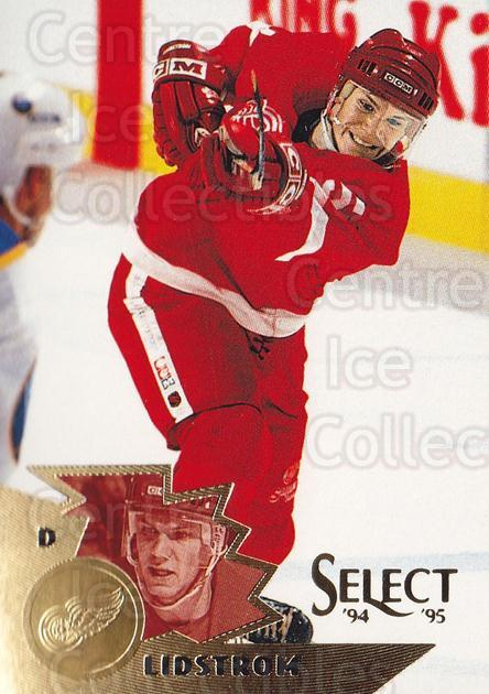 1994-95 Select #134 Nicklas Lidstrom<br/>2 In Stock - $2.00 each - <a href=https://centericecollectibles.foxycart.com/cart?name=1994-95%20Select%20%23134%20Nicklas%20Lidstro...&quantity_max=2&price=$2.00&code=34111 class=foxycart> Buy it now! </a>