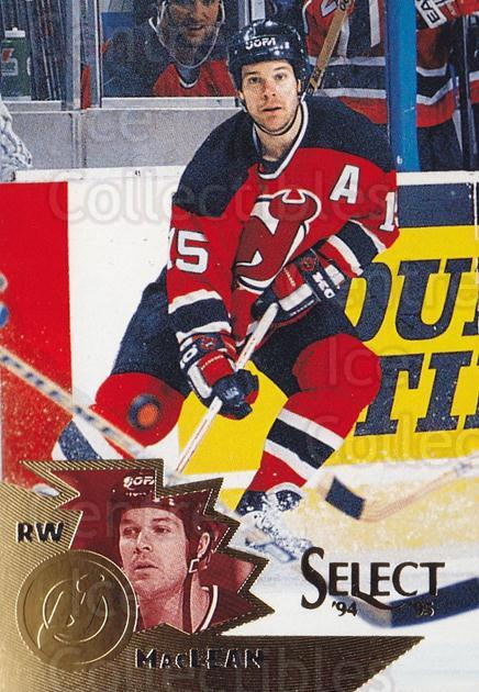 1994-95 Select #136 John MacLean<br/>4 In Stock - $1.00 each - <a href=https://centericecollectibles.foxycart.com/cart?name=1994-95%20Select%20%23136%20John%20MacLean...&quantity_max=4&price=$1.00&code=34113 class=foxycart> Buy it now! </a>
