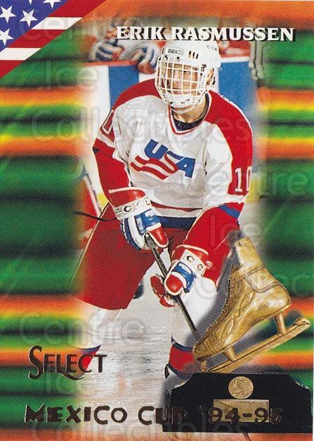 1994-95 Select #152 Erik Rasmussen<br/>3 In Stock - $1.00 each - <a href=https://centericecollectibles.foxycart.com/cart?name=1994-95%20Select%20%23152%20Erik%20Rasmussen...&quantity_max=3&price=$1.00&code=34130 class=foxycart> Buy it now! </a>