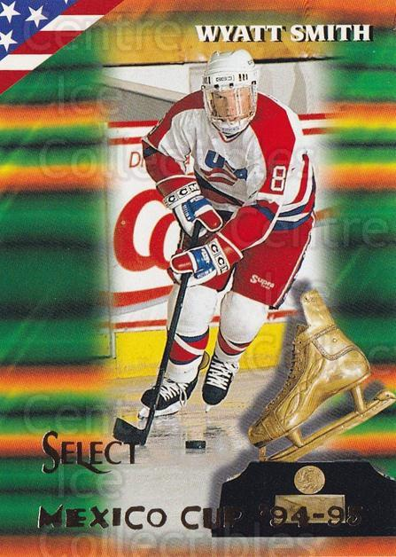 1994-95 Select #156 Wyatt Smith<br/>3 In Stock - $1.00 each - <a href=https://centericecollectibles.foxycart.com/cart?name=1994-95%20Select%20%23156%20Wyatt%20Smith...&quantity_max=3&price=$1.00&code=34134 class=foxycart> Buy it now! </a>