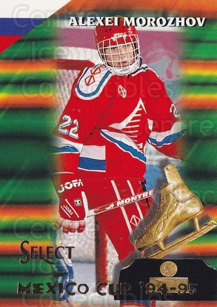 1994-95 Select #158 Alexei Morozov<br/>1 In Stock - $1.00 each - <a href=https://centericecollectibles.foxycart.com/cart?name=1994-95%20Select%20%23158%20Alexei%20Morozov...&quantity_max=1&price=$1.00&code=34135 class=foxycart> Buy it now! </a>