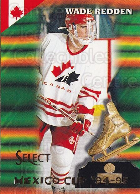 1994-95 Select #160 Wade Redden<br/>4 In Stock - $1.00 each - <a href=https://centericecollectibles.foxycart.com/cart?name=1994-95%20Select%20%23160%20Wade%20Redden...&quantity_max=4&price=$1.00&code=34138 class=foxycart> Buy it now! </a>