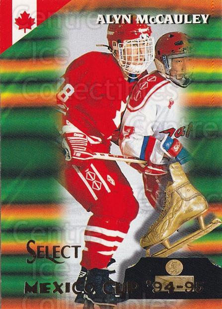 1994-95 Select #162 Alyn McCauley<br/>4 In Stock - $1.00 each - <a href=https://centericecollectibles.foxycart.com/cart?name=1994-95%20Select%20%23162%20Alyn%20McCauley...&quantity_max=4&price=$1.00&code=34140 class=foxycart> Buy it now! </a>