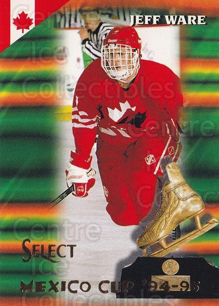 1994-95 Select #163 Jeff Ware<br/>4 In Stock - $1.00 each - <a href=https://centericecollectibles.foxycart.com/cart?name=1994-95%20Select%20%23163%20Jeff%20Ware...&quantity_max=4&price=$1.00&code=34141 class=foxycart> Buy it now! </a>