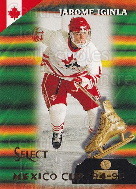 1994-95 Select #165 Jarome Iginla<br/>4 In Stock - $5.00 each - <a href=https://centericecollectibles.foxycart.com/cart?name=1994-95%20Select%20%23165%20Jarome%20Iginla...&quantity_max=4&price=$5.00&code=34142 class=foxycart> Buy it now! </a>