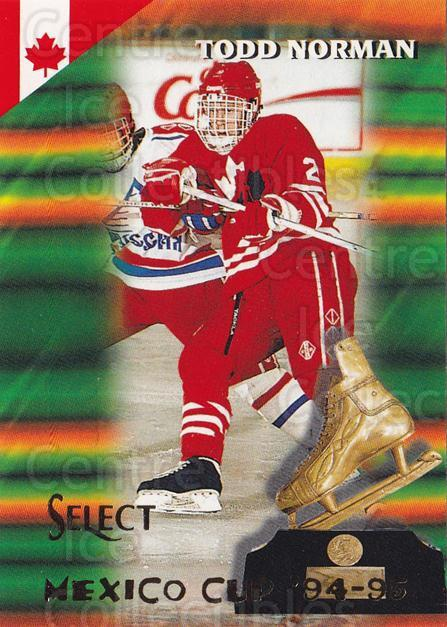 1994-95 Select #168 Todd Norman<br/>4 In Stock - $1.00 each - <a href=https://centericecollectibles.foxycart.com/cart?name=1994-95%20Select%20%23168%20Todd%20Norman...&quantity_max=4&price=$1.00&code=34145 class=foxycart> Buy it now! </a>