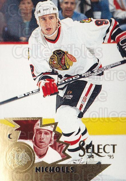 1994-95 Select #17 Bernie Nicholls<br/>4 In Stock - $1.00 each - <a href=https://centericecollectibles.foxycart.com/cart?name=1994-95%20Select%20%2317%20Bernie%20Nicholls...&quantity_max=4&price=$1.00&code=34147 class=foxycart> Buy it now! </a>