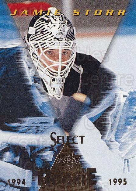 1994-95 Select #170 Jamie Storr<br/>3 In Stock - $1.00 each - <a href=https://centericecollectibles.foxycart.com/cart?name=1994-95%20Select%20%23170%20Jamie%20Storr...&quantity_max=3&price=$1.00&code=34148 class=foxycart> Buy it now! </a>