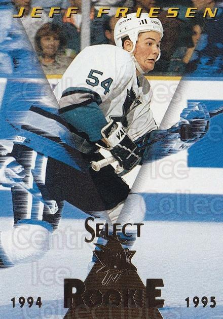 1994-95 Select #176 Jeff Friesen<br/>3 In Stock - $1.00 each - <a href=https://centericecollectibles.foxycart.com/cart?name=1994-95%20Select%20%23176%20Jeff%20Friesen...&quantity_max=3&price=$1.00&code=34154 class=foxycart> Buy it now! </a>