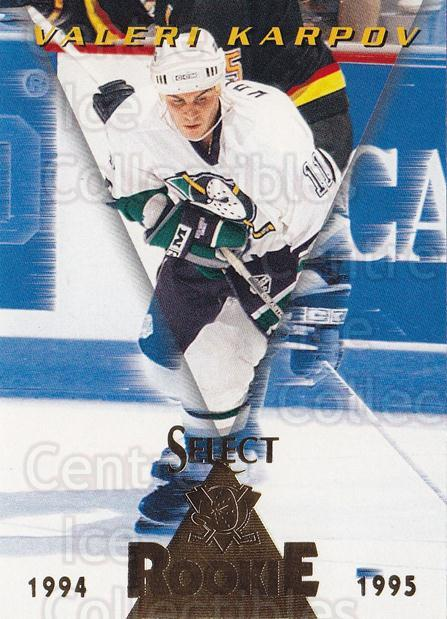 1994-95 Select #183 Valeri Karpov<br/>4 In Stock - $1.00 each - <a href=https://centericecollectibles.foxycart.com/cart?name=1994-95%20Select%20%23183%20Valeri%20Karpov...&quantity_max=4&price=$1.00&code=34161 class=foxycart> Buy it now! </a>