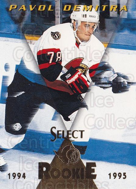 1994-95 Select #185 Pavol Demitra<br/>4 In Stock - $1.00 each - <a href=https://centericecollectibles.foxycart.com/cart?name=1994-95%20Select%20%23185%20Pavol%20Demitra...&quantity_max=4&price=$1.00&code=34163 class=foxycart> Buy it now! </a>