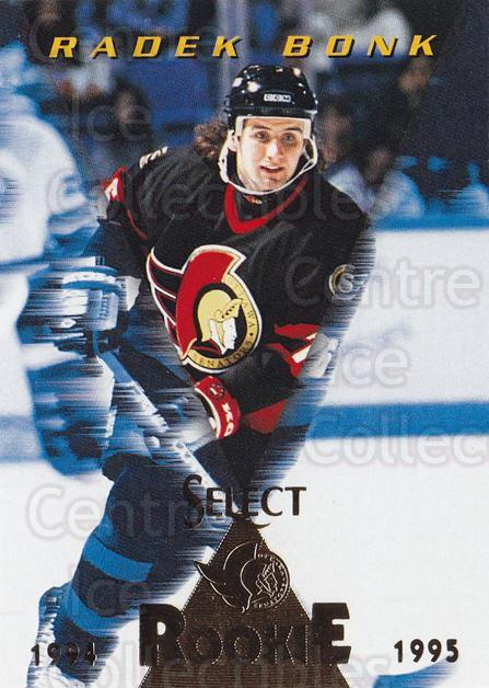 1994-95 Select #186 Radek Bonk<br/>4 In Stock - $1.00 each - <a href=https://centericecollectibles.foxycart.com/cart?name=1994-95%20Select%20%23186%20Radek%20Bonk...&quantity_max=4&price=$1.00&code=34164 class=foxycart> Buy it now! </a>