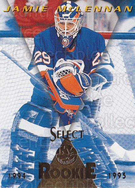 1994-95 Select #189 Jamie McLennan<br/>4 In Stock - $1.00 each - <a href=https://centericecollectibles.foxycart.com/cart?name=1994-95%20Select%20%23189%20Jamie%20McLennan...&quantity_max=4&price=$1.00&code=34166 class=foxycart> Buy it now! </a>