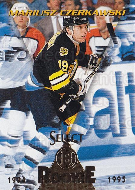 1994-95 Select #190 Mariusz Czerkawski<br/>4 In Stock - $1.00 each - <a href=https://centericecollectibles.foxycart.com/cart?name=1994-95%20Select%20%23190%20Mariusz%20Czerkaw...&quantity_max=4&price=$1.00&code=34168 class=foxycart> Buy it now! </a>