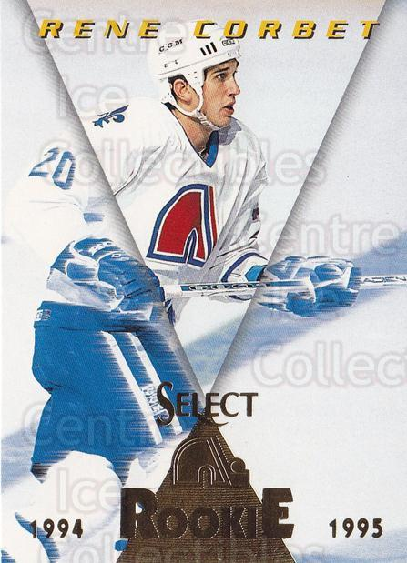 1994-95 Select #197 Rene Corbet<br/>4 In Stock - $1.00 each - <a href=https://centericecollectibles.foxycart.com/cart?name=1994-95%20Select%20%23197%20Rene%20Corbet...&quantity_max=4&price=$1.00&code=34175 class=foxycart> Buy it now! </a>