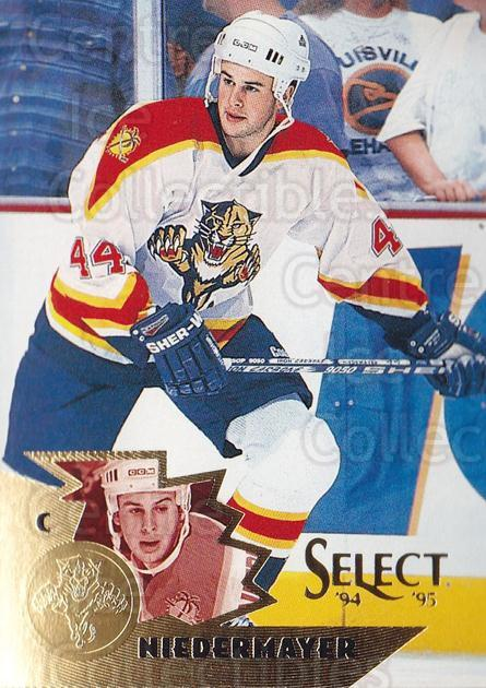 1994-95 Select #25 Rob Niedermayer<br/>4 In Stock - $1.00 each - <a href=https://centericecollectibles.foxycart.com/cart?name=1994-95%20Select%20%2325%20Rob%20Niedermayer...&quantity_max=4&price=$1.00&code=34185 class=foxycart> Buy it now! </a>