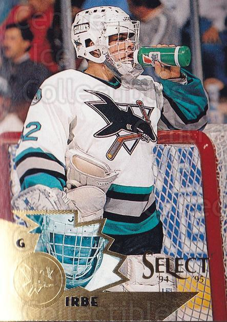 1994-95 Select #37 Arturs Irbe<br/>3 In Stock - $2.00 each - <a href=https://centericecollectibles.foxycart.com/cart?name=1994-95%20Select%20%2337%20Arturs%20Irbe...&quantity_max=3&price=$2.00&code=34198 class=foxycart> Buy it now! </a>