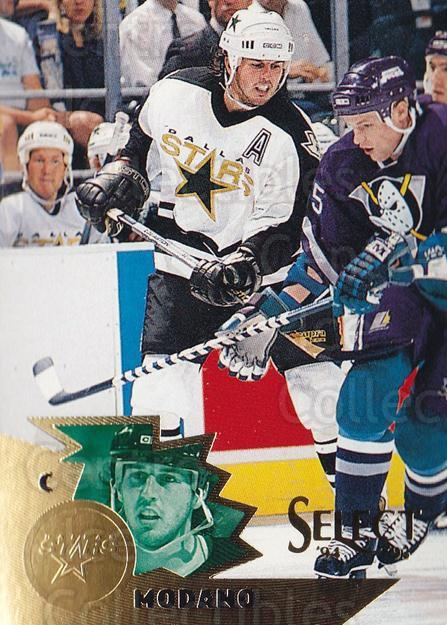 1994-95 Select #38 Mike Modano<br/>4 In Stock - $2.00 each - <a href=https://centericecollectibles.foxycart.com/cart?name=1994-95%20Select%20%2338%20Mike%20Modano...&quantity_max=4&price=$2.00&code=34199 class=foxycart> Buy it now! </a>