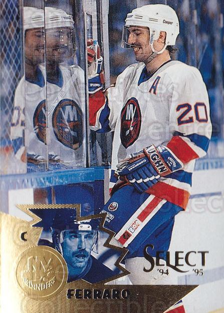 1994-95 Select #41 Ray Ferraro<br/>4 In Stock - $1.00 each - <a href=https://centericecollectibles.foxycart.com/cart?name=1994-95%20Select%20%2341%20Ray%20Ferraro...&quantity_max=4&price=$1.00&code=34203 class=foxycart> Buy it now! </a>