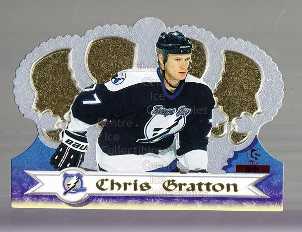 1999-00 Crown Royale Limited Series #128 Chris Gratton<br/>1 In Stock - $5.00 each - <a href=https://centericecollectibles.foxycart.com/cart?name=1999-00%20Crown%20Royale%20Limited%20Series%20%23128%20Chris%20Gratton...&quantity_max=1&price=$5.00&code=342116 class=foxycart> Buy it now! </a>