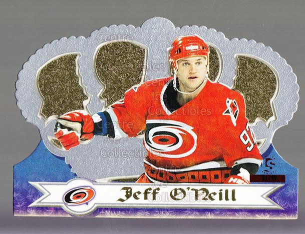 1999-00 Crown Royale Limited Series #29 Jeff O'Neill<br/>3 In Stock - $5.00 each - <a href=https://centericecollectibles.foxycart.com/cart?name=1999-00%20Crown%20Royale%20Limited%20Series%20%2329%20Jeff%20O'Neill...&quantity_max=3&price=$5.00&code=342148 class=foxycart> Buy it now! </a>