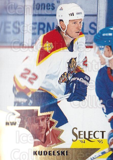 1994-95 Select #55 Bob Kudelski<br/>4 In Stock - $1.00 each - <a href=https://centericecollectibles.foxycart.com/cart?name=1994-95%20Select%20%2355%20Bob%20Kudelski...&quantity_max=4&price=$1.00&code=34218 class=foxycart> Buy it now! </a>
