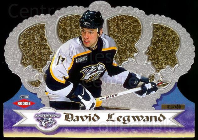 1999-00 Crown Royale Prospects Parallel #76 David Legwand<br/>1 In Stock - $3.00 each - <a href=https://centericecollectibles.foxycart.com/cart?name=1999-00%20Crown%20Royale%20Prospects%20Parallel%20%2376%20David%20Legwand...&quantity_max=1&price=$3.00&code=342384 class=foxycart> Buy it now! </a>