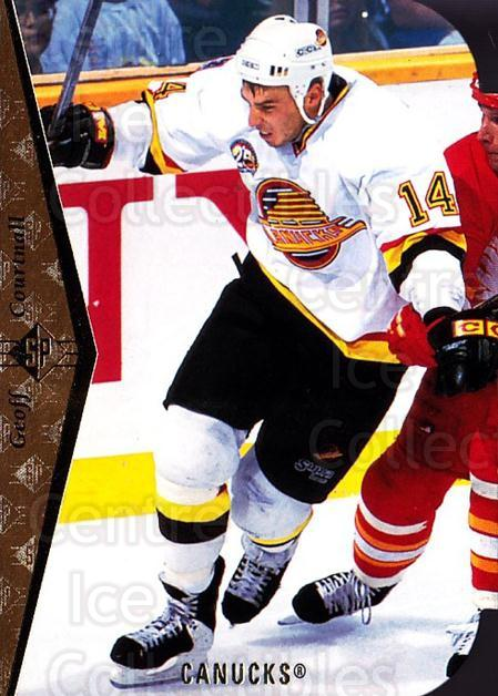 1994-95 SP Die Cuts #125 Geoff Courtnall<br/>15 In Stock - $2.00 each - <a href=https://centericecollectibles.foxycart.com/cart?name=1994-95%20SP%20Die%20Cuts%20%23125%20Geoff%20Courtnall...&quantity_max=15&price=$2.00&code=34249 class=foxycart> Buy it now! </a>