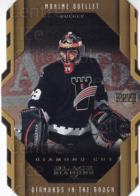 1999-00 Black Diamond Cut #101 Maxime Ouellet<br/>6 In Stock - $2.00 each - <a href=https://centericecollectibles.foxycart.com/cart?name=1999-00%20Black%20Diamond%20Cut%20%23101%20Maxime%20Ouellet...&price=$2.00&code=342503 class=foxycart> Buy it now! </a>