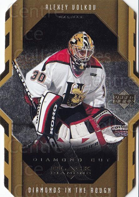 1999-00 Black Diamond Cut #104 Alexei Volkov<br/>6 In Stock - $2.00 each - <a href=https://centericecollectibles.foxycart.com/cart?name=1999-00%20Black%20Diamond%20Cut%20%23104%20Alexei%20Volkov...&quantity_max=6&price=$2.00&code=342505 class=foxycart> Buy it now! </a>