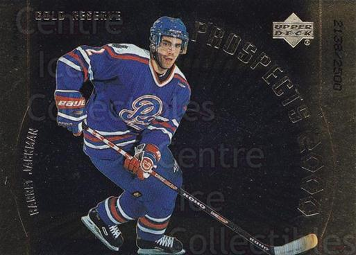 1999-00 Upper Deck Gold Reserve #312 Barret Jackman<br/>1 In Stock - $5.00 each - <a href=https://centericecollectibles.foxycart.com/cart?name=1999-00%20Upper%20Deck%20Gold%20Reserve%20%23312%20Barret%20Jackman...&quantity_max=1&price=$5.00&code=343232 class=foxycart> Buy it now! </a>