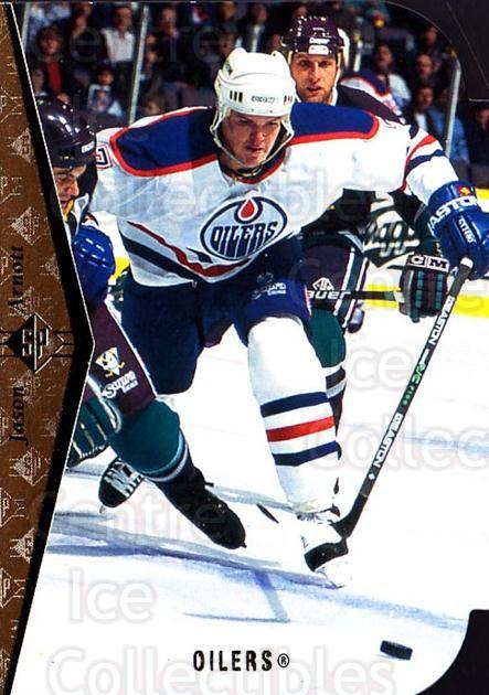 1994-95 SP Die Cuts #40 Jason Arnott<br/>14 In Stock - $2.00 each - <a href=https://centericecollectibles.foxycart.com/cart?name=1994-95%20SP%20Die%20Cuts%20%2340%20Jason%20Arnott...&quantity_max=14&price=$2.00&code=34347 class=foxycart> Buy it now! </a>