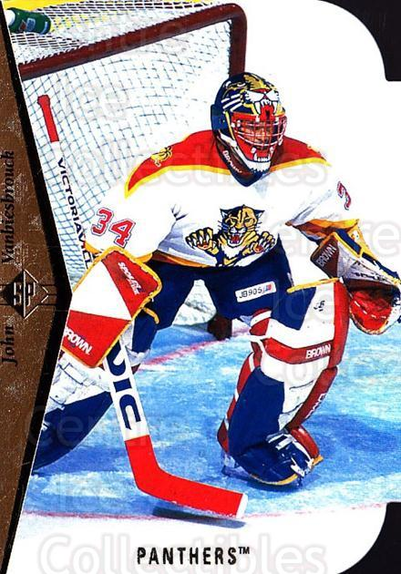 1994-95 SP Die Cuts #44 John Vanbiesbrouck<br/>2 In Stock - $2.00 each - <a href=https://centericecollectibles.foxycart.com/cart?name=1994-95%20SP%20Die%20Cuts%20%2344%20John%20Vanbiesbro...&quantity_max=2&price=$2.00&code=34351 class=foxycart> Buy it now! </a>