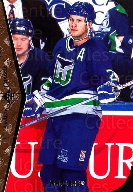 1994-95 SP Die Cuts #50 Andrew Cassels<br/>12 In Stock - $2.00 each - <a href=https://centericecollectibles.foxycart.com/cart?name=1994-95%20SP%20Die%20Cuts%20%2350%20Andrew%20Cassels...&quantity_max=12&price=$2.00&code=34358 class=foxycart> Buy it now! </a>