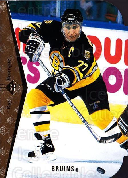 1994-95 SP Die Cuts #6 Ray Bourque<br/>7 In Stock - $2.00 each - <a href=https://centericecollectibles.foxycart.com/cart?name=1994-95%20SP%20Die%20Cuts%20%236%20Ray%20Bourque...&quantity_max=7&price=$2.00&code=34366 class=foxycart> Buy it now! </a>