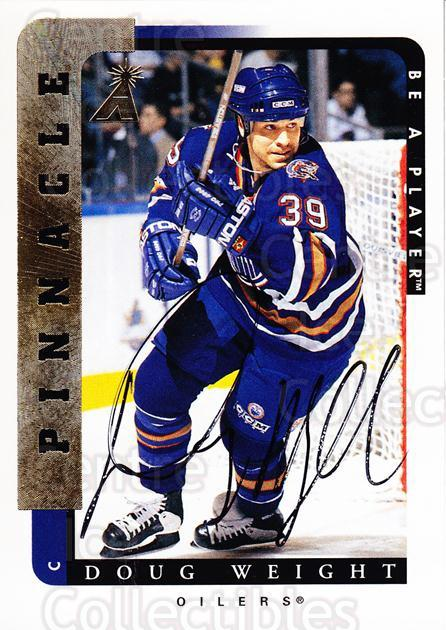 1996-97 Be A Player Auto #174 Doug Weight<br/>1 In Stock - $5.00 each - <a href=https://centericecollectibles.foxycart.com/cart?name=1996-97%20Be%20A%20Player%20Auto%20%23174%20Doug%20Weight...&quantity_max=1&price=$5.00&code=343805 class=foxycart> Buy it now! </a>